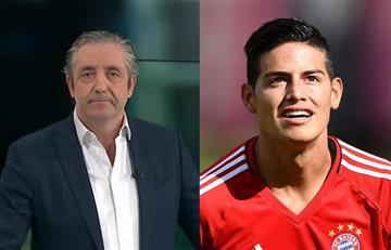 James Rodríguez se lució con el Bayern y en la prensa española lo resaltan