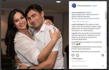 Termina el matrimonio de Mauro Urquijo