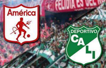 América vs. Cali: EN VIVO el clásico caleño en Bogotá por el Torneo Fox Sports