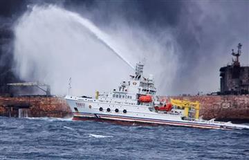China: La marea negra aumenta su tamaño ante la resignación de los pescadores