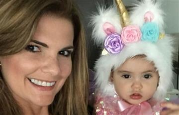 El primer año de Mariana, hija de Rochi Stevenson, se celebró con todo