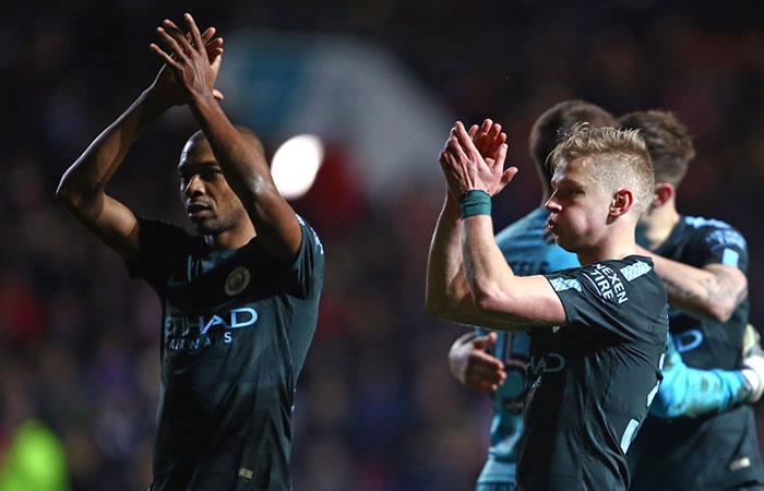 Manchester City a la final de la Copa de la Liga