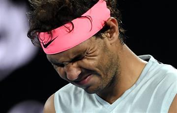 Rafael Nadal se despide del Abierto de Australia por lesión