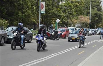 Alcaldía de Bogotá prohibió parrillero hombre en motos
