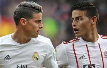 James Rodríguez podría abandonar el Bayern Múnich y regresar al Real Madrid
