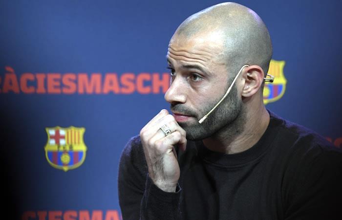 Mascherano y su triste despedida del Barcelona