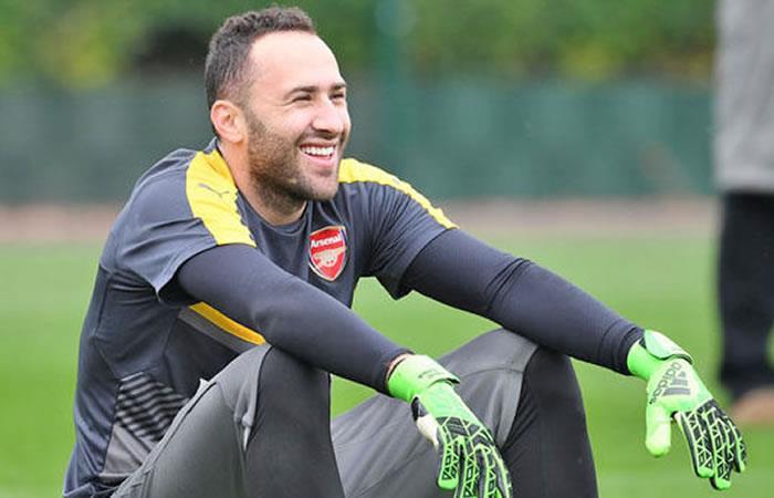 """David Ospina: """"Sigo soñando con ser el número uno del Arsenal"""""""