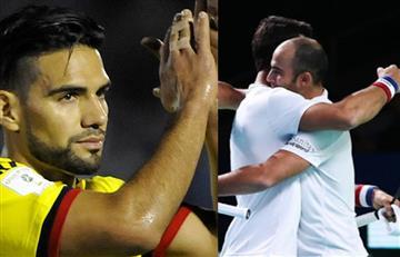 Falcao García con humildad felicitó a Farah y Cabal