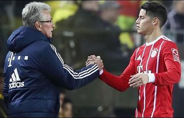 James Rodríguez tendría nuevo técnico ¿Qué pasó con Jupp Heynckes?