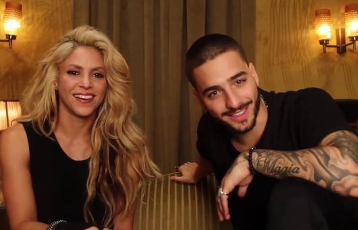 Shakira y Maluma revelan adelanto de su nuevo videoclip