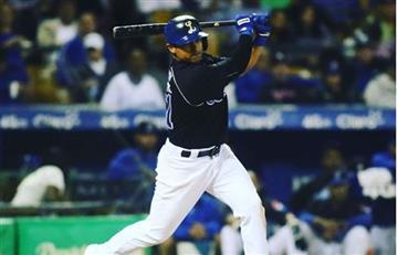 Video: Beisbolista colombiano sufrió fuerte golpe