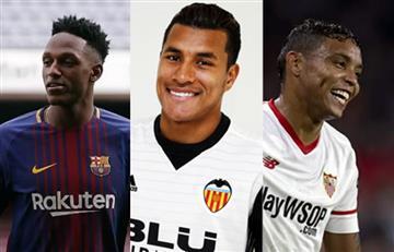 Copa del Rey: Yerry Mina, Jeison Murillo y Luis Fernando Muriel en la semifinal
