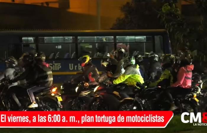 Distrito afirma que restricción de parrilleros en moto no será en toda Bogotá