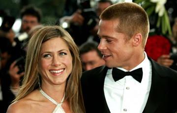 Jennifer Aniston se reunió con Brad Pitt y sus hijos