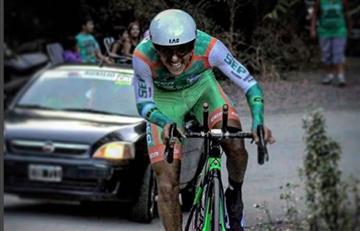 Rodolfo Torres el mejor colombiano de la quinta etapa de Vuelta a San Juan