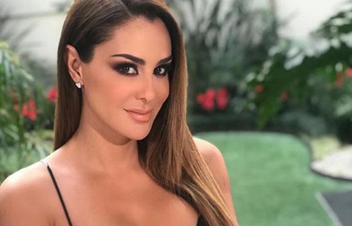 Ninel Conde revela foto íntima tras chantaje