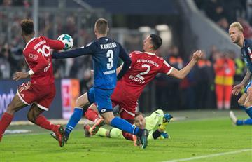 Bayern Munich sigue imparable, goleó al Hoffenheim tras una remontada