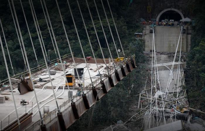 La ANI le pide a Invías demoler el resto del puente Chirajara