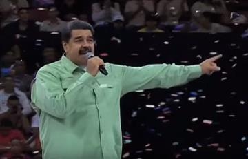 Maduro inició su campaña de reelección bailando y cantando rap