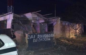 Nueva explosión en un CAI de la Policía, en Barranquilla