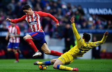 Atlético Madrid dio un golpe de autoridad en la Liga de España