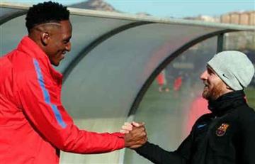 Barcelona remontó al final y Yerry Mina sigue sin debutar