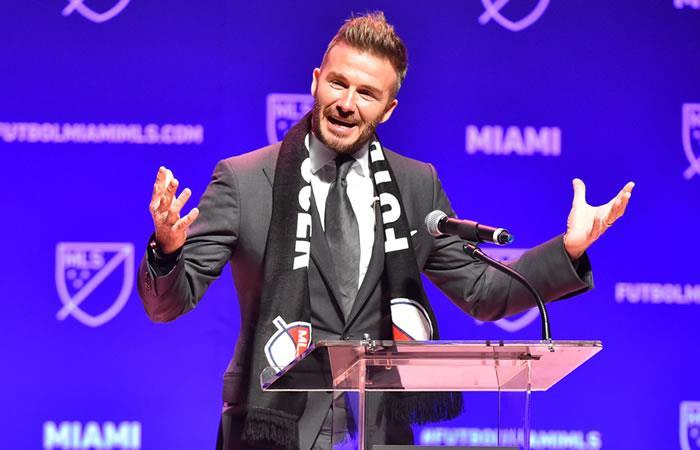 David Beckham lanza un nuevo equipo en la MLS