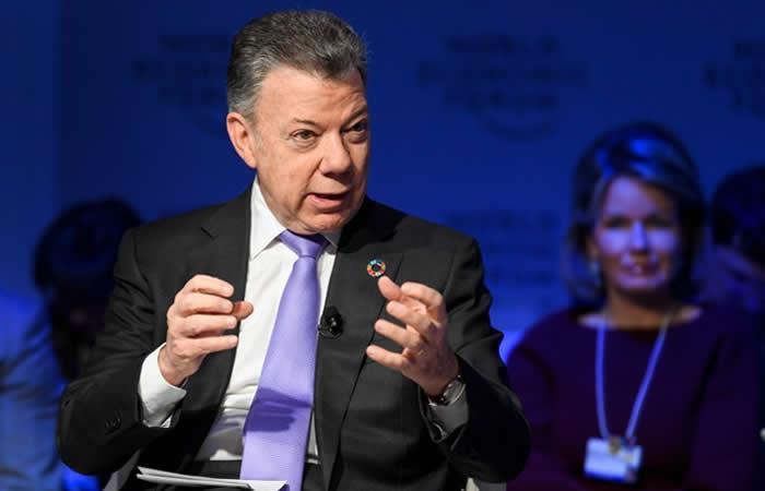 Santos evalúa el futuro de los diálogos con el ELN