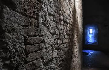Aterradora foto de un supuesto monje fantasma en un castillo de Inglaterra