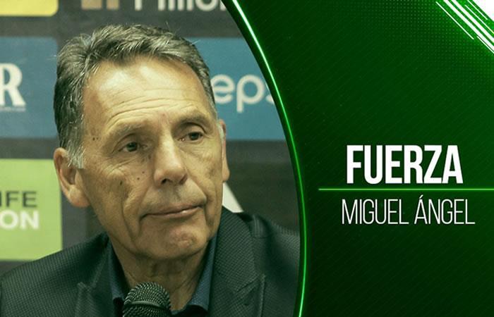Atlético Nacional con humildad le envía un mensaje de aliento a Miguel Ángel Russo