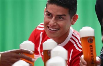 James Rodríguez candidato a este prestigioso premio en el Bayern, VOTA AQUÍ