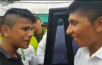 Nairo Quintana compartió con sus admiradores en Villavicencio