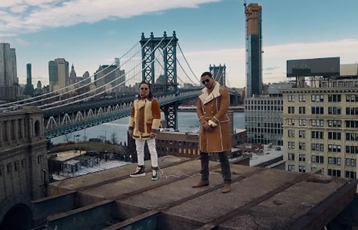 Ozuna y Romeo Santos estrenan video de 'El Farsante Remix'