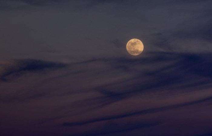 Estas son las primeras imágenes de la Superluna Azul de sangre