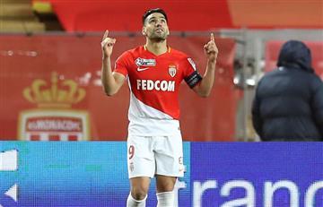 Falcao marca dos goles y conduce al Mónaco a la final