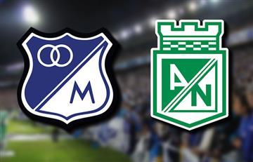 Millonarios vs Nacional: Transmisión EN VIVO por TV por la Superliga