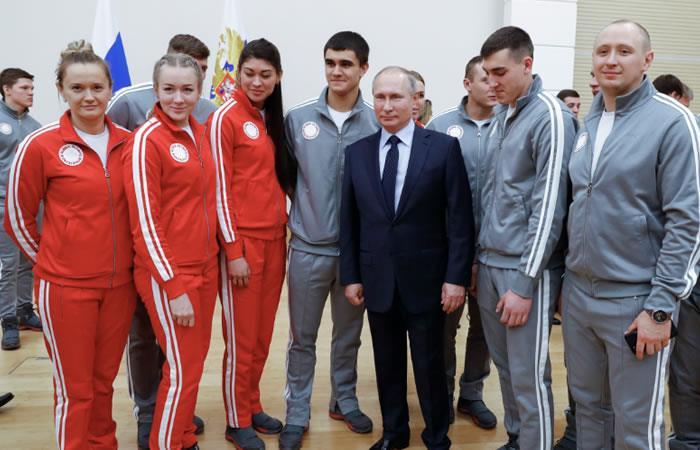 Putin ofreció perdón a deportistas por escándalo de dopaje