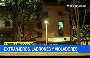 Bogotá: En medio de un atraco un venezolano habría violado a una joven