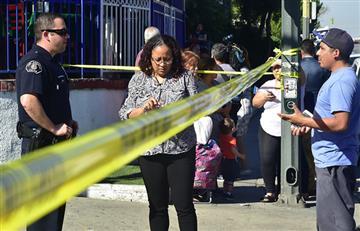 Dos estudiantes heridos dejó un tiroteo en una escuela de EEUU