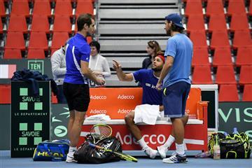 La Copa Davis echa a andar sin las grandes estrellas del tenis