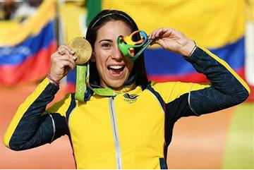 """Mariana Pajón : """"El Mundial de Bakú es muy importante para mí"""""""