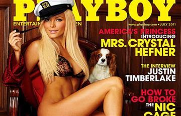Mira el drástico cambio de la exPlayBoy y viuda de Hugh Hefner