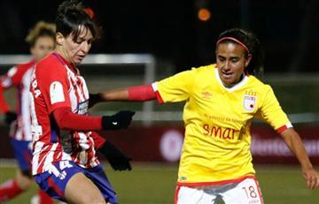 Santa Fe y Atlético de Madrid en tablas en amistoso femenino