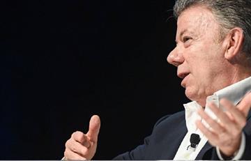 """Juan Manuel Santos: """"La caída del puente de Chirajara es normal"""""""