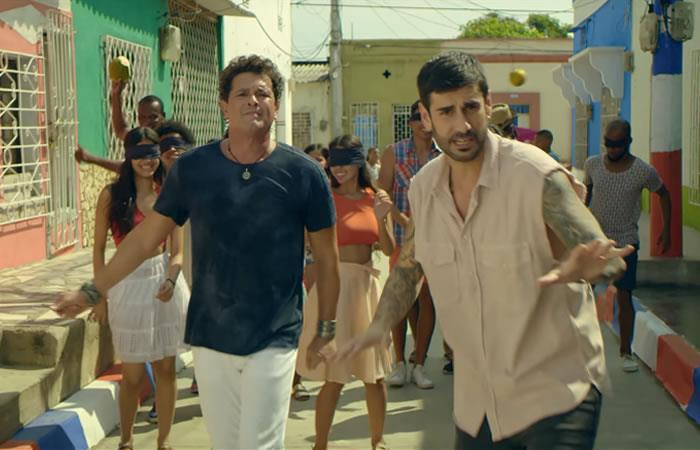Melendi y Carlos Vives estrenan video de 'El arrepentido'