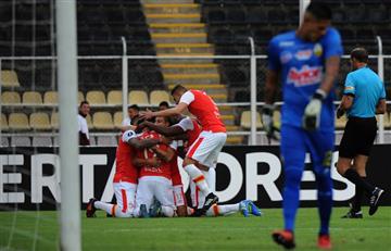 Copa Libertadores: Santa Fe sacó importante triunfo contra Táchira en Venezuela