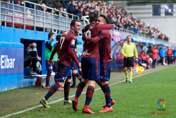 Sevilla fue goleada  5-1 por El Eibar