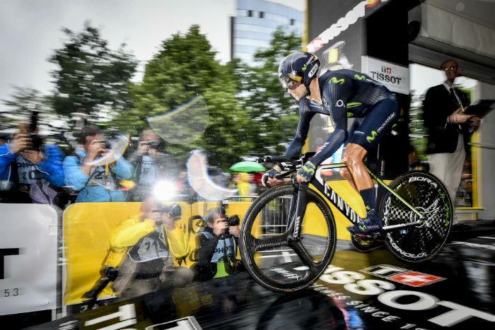 Vuelta a Valencia: Valverde ganó tercera etapa y es líder