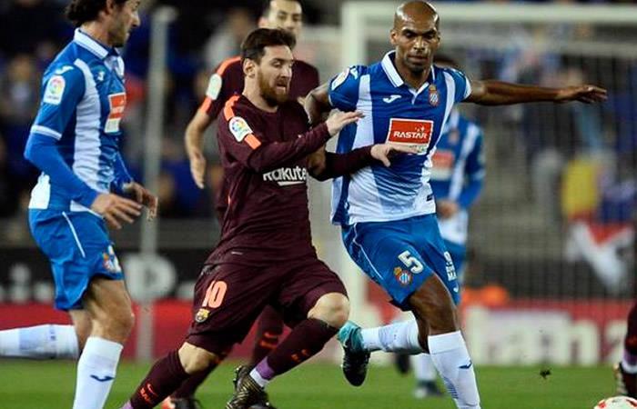 Barcelona empató ante el Espanyol y salvó el invicto