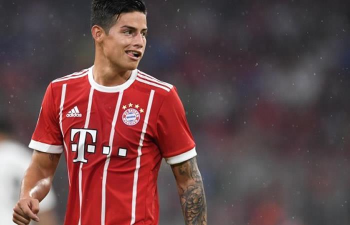 James Rodríguez y la divertida respuesta al Bayern Múnich